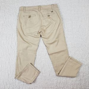 Hollister Skinny So Cal Stretch Tan Pants